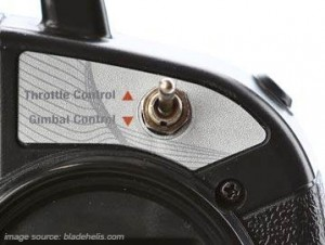 Blade 350 QX3 trottle control
