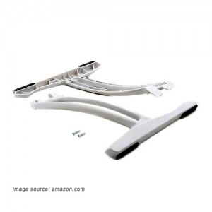 Blade white tall landing gear