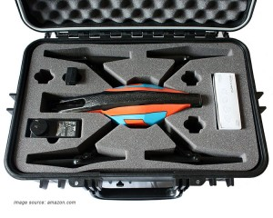 parrot ar drone carrying case