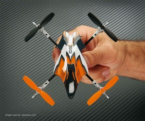 Heli-Max 1SQ quadcopter above view