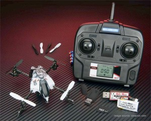 Heli-Max 1SQ v-cam RTF quadcopter package