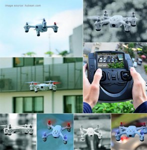 Hubsan H107D FPV X4 Mini RTF quadcopter images