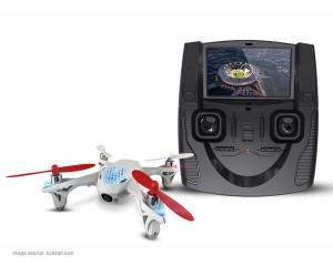 Hubsan H107D quadcopter remote controll