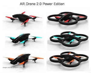Parrot AR Drone 2.0 Power Edition colors