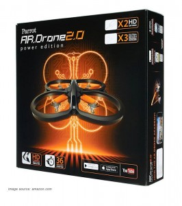 Parrot AR.Drone 2.0 Power Edition box