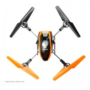 blade 180 hd rtf quadcopter top view