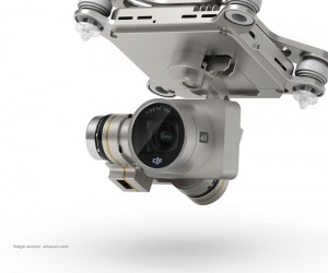 DJI Phantom 3 4K UHD video camera