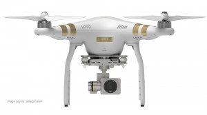 Dji Phantom 3 professional quadcopter drone with camera