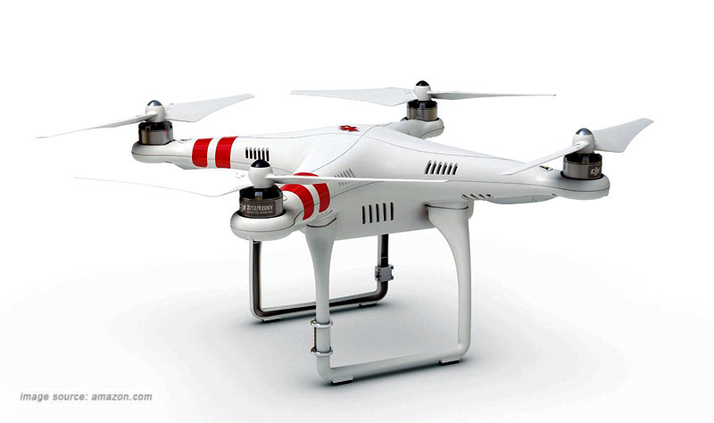 DJI Phantom aerial UAV for GoPro