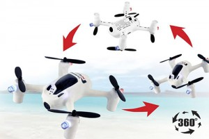 flips and rolls with your quadcopter