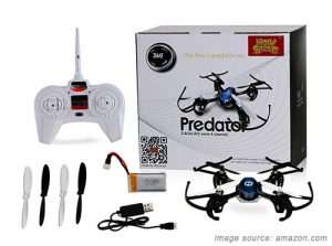 holy stone hs170 predator mini helicopter drone