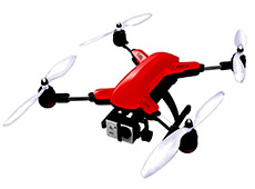 Muzeli Foldable Quadcopter