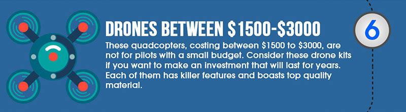 drones between $1500-$3000