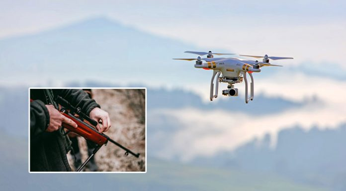 drones used for hunting